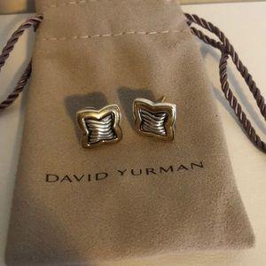 David Yurman Sculpted Cable Earrings